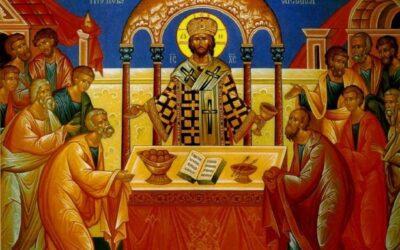 Божественная Литургия, таинство Соборования, акафист Пресвятой Богородице 17 апреля 2021